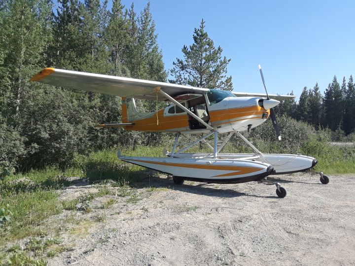 A mechanical issue forced a small plane to land on a road south of Hinton, Alta., on Friday as it was flying from B.C. to Edmonton.