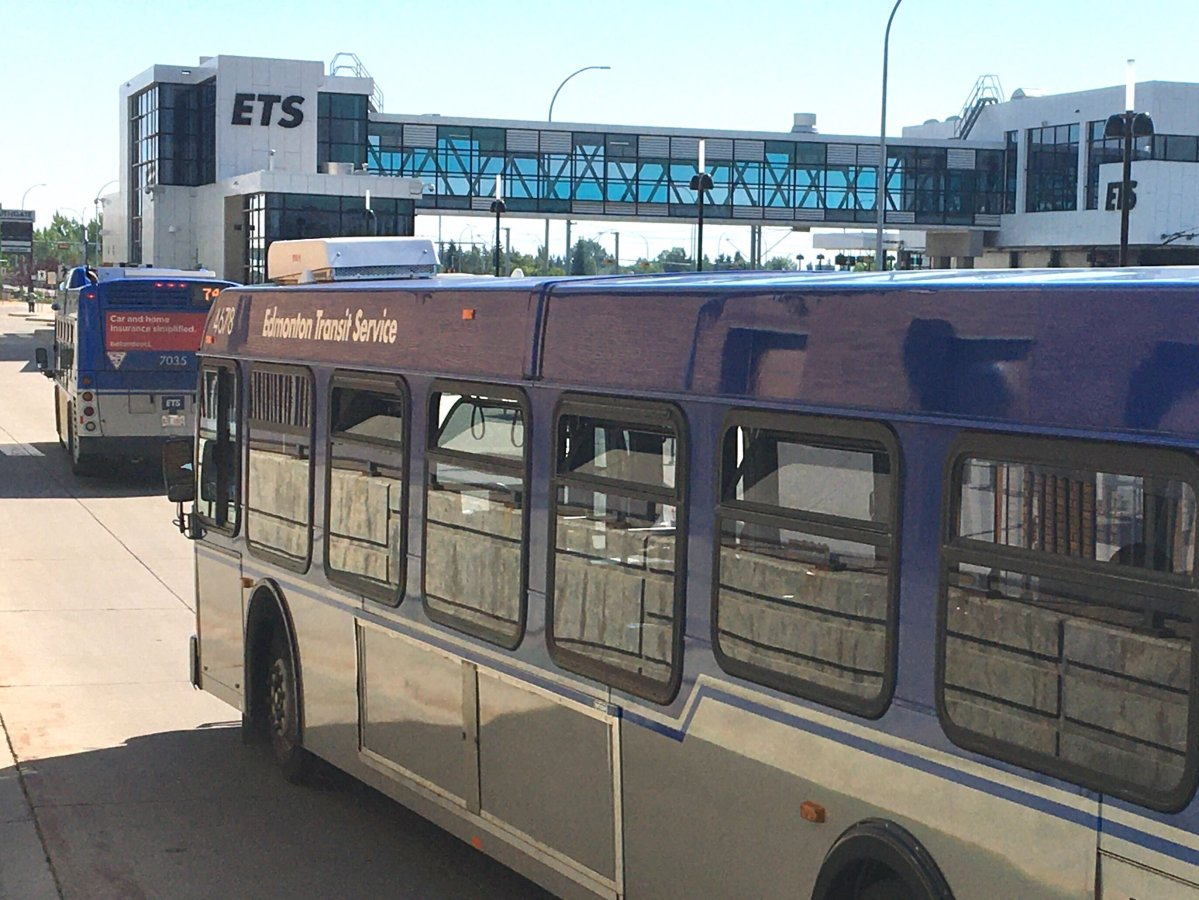 File: ETS bus in Edmonton Tuesday, July 28, 2020.