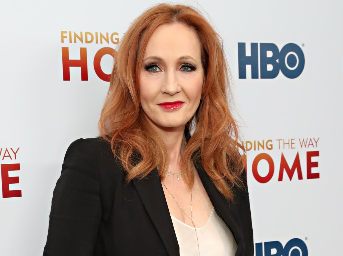 J.K Rowling attends HBO's 'Finding The Way Home' world premiere at Hudson Yards on Dec. 11, 2019 in New York City.