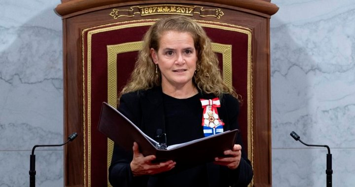 COMMENTARY: Canada needs a new Governor General. Julie Payette needs to resign