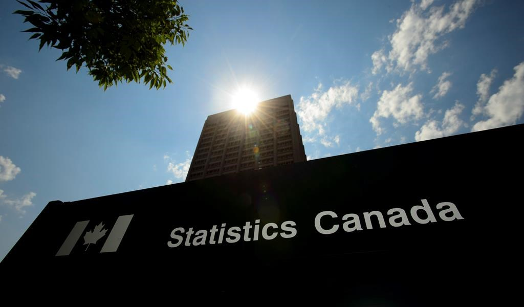 Statistics Canada building and signs are pictured in Ottawa on Wednesday, July 3, 2019. Statistics Canada will say this morning how the economy fared in May and provide its preliminary estimate for June to give a picture of the first half of a year marked by the COVID-19 pandemic. THE CANADIAN PRESS/Sean Kilpatrick.