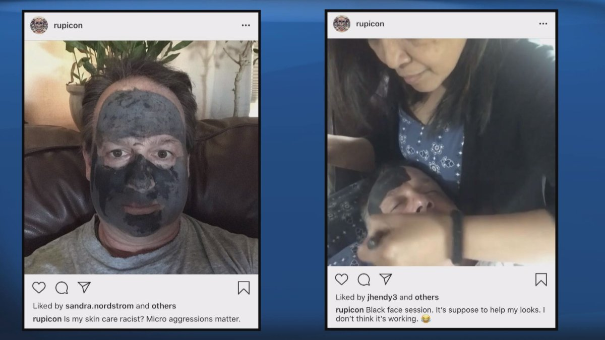 Const. Rupert Meinke's conduct is under review after two social media posts surfaced involving blackface jokes.