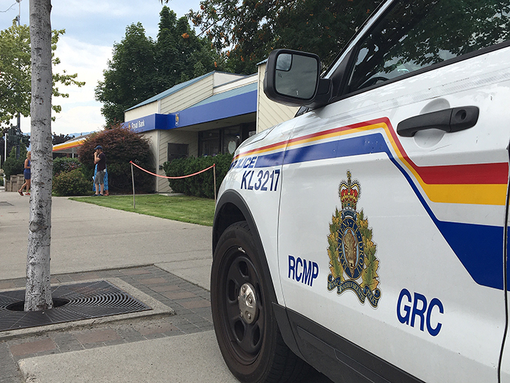 According to Kelowna RCMP, the RBC at branch at Pandosy Street and Cedar Avenue was robbed on Friday just after 10 a.m.