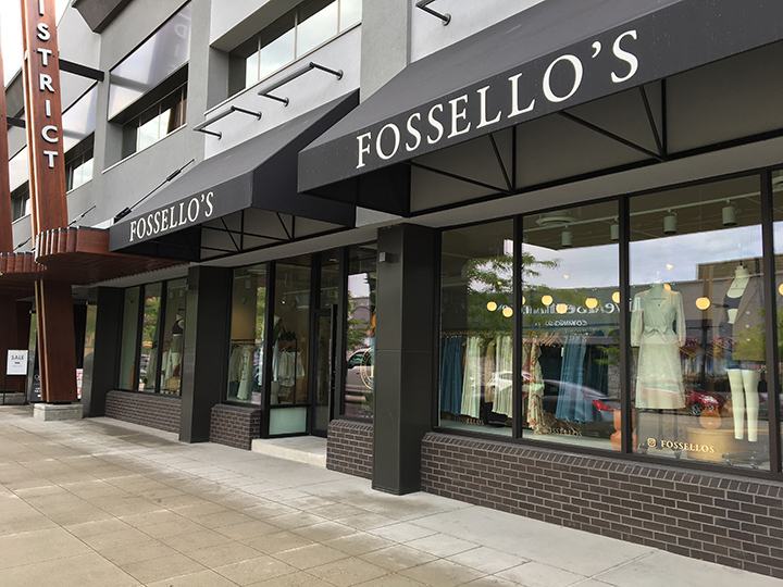 On Friday, Interior Health identified Fossello's Quality Clothing store on Bernard where people may have been exposed to COVID-19.
