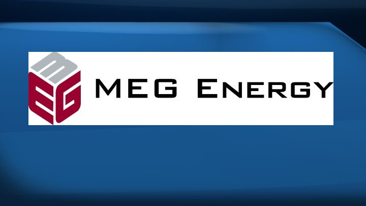 The MEG Energy Corp. logo is seen in this undated handout photo.