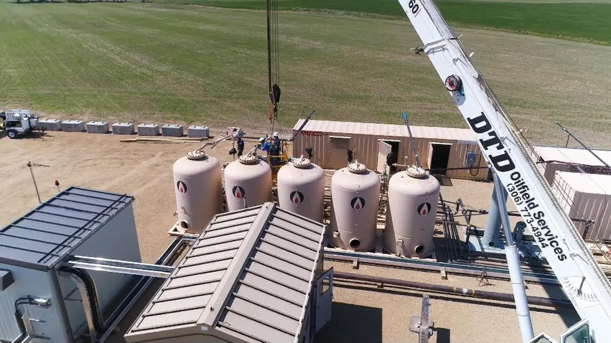 North American Helium says seven years of hard work marks the start of production at its first single well helium purification plant in Saskatchewan.