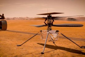 Play video: NASA's Ingenuity helicopter prepares for historic Mars flight