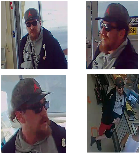 Winnipeg police are asking for the public's help identifying this person in connection to a weekend shooting on Ellice Avenue.