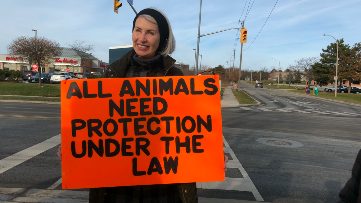 Regan Russell, a longtime animal rights activist, was killed during a demonstration outside of a pork processing plant in Burlington, Ont., on June 19.