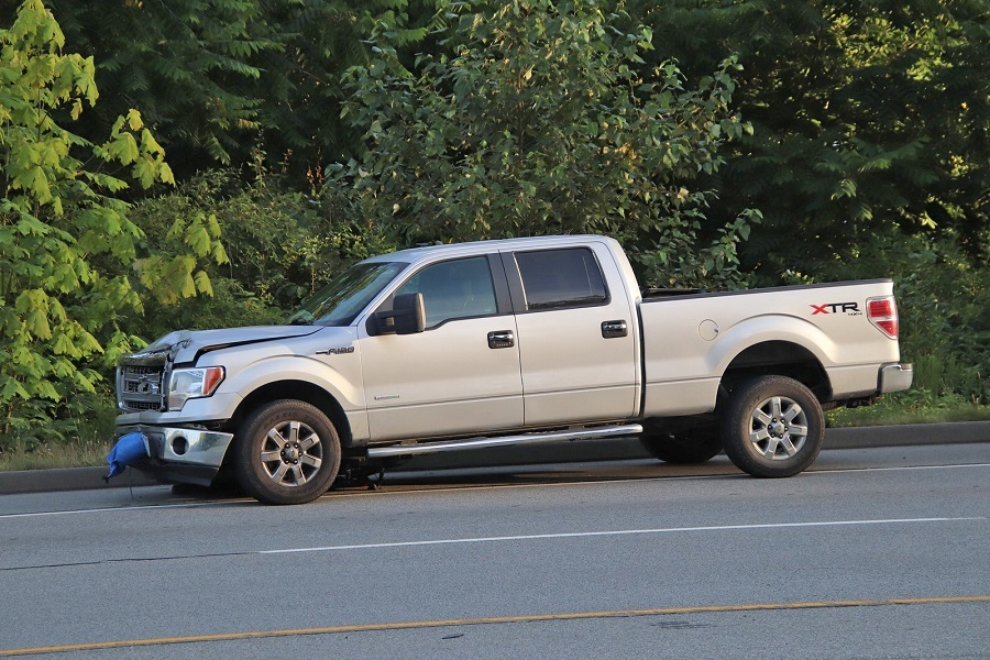 A marketing image of the type of truck involved in the fatal crash on Monday, July 20, 2020.