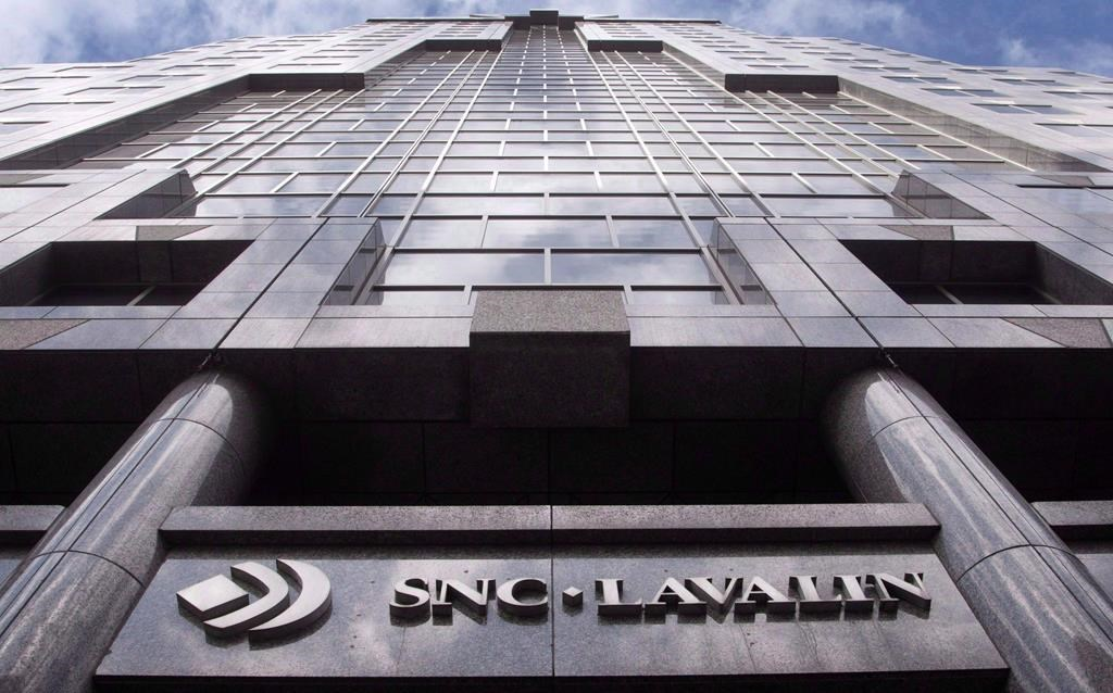 The offices of SNC Lavalin are seen in Montreal on Monday, March 26, 2012.