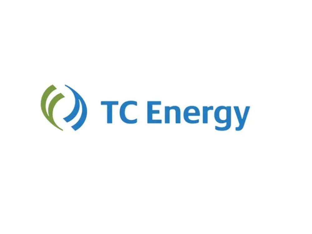 The TC Energy logo is shown in a handout.