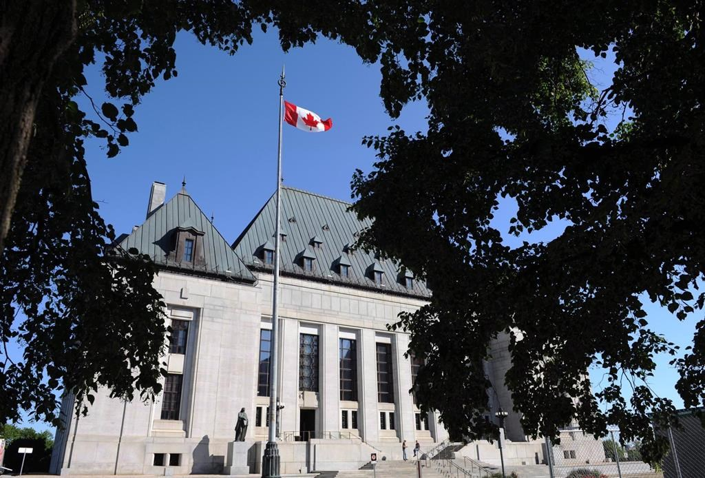 The Supreme Court of Canada is shown in Ottawa on Tuesday, July 10, 2012.