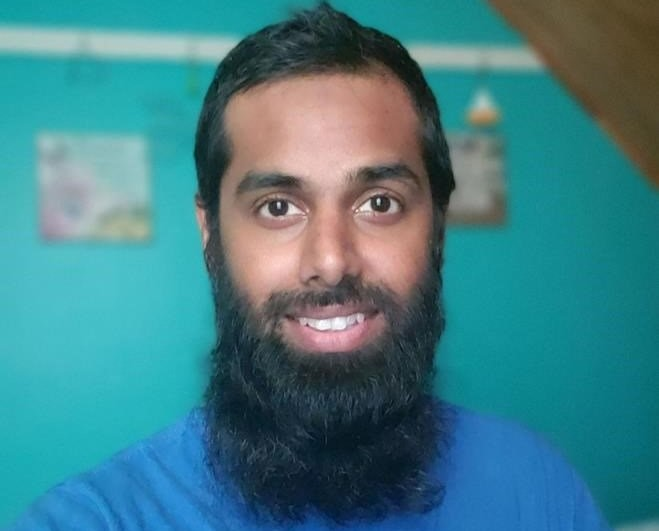 Omair Imtiaz, 32, originally from Dubai, now lives in Charlottetown, P.E.I.