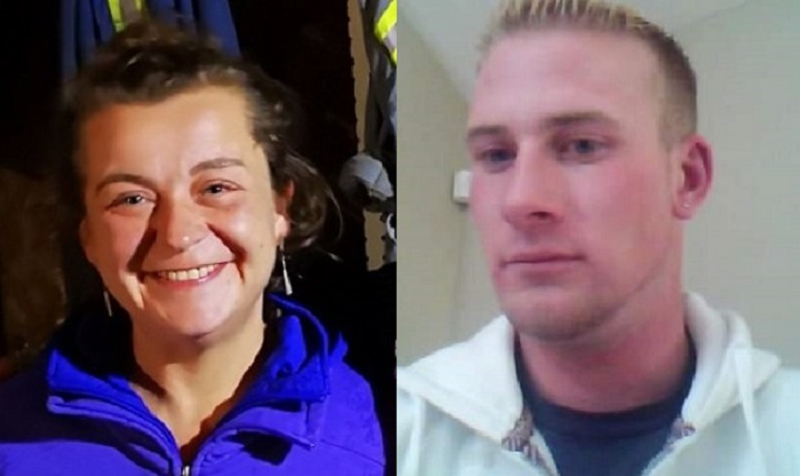 The remains of Sarah Foord (left) were found Friday. Police say John Keyler (right) has now been charged with murder.