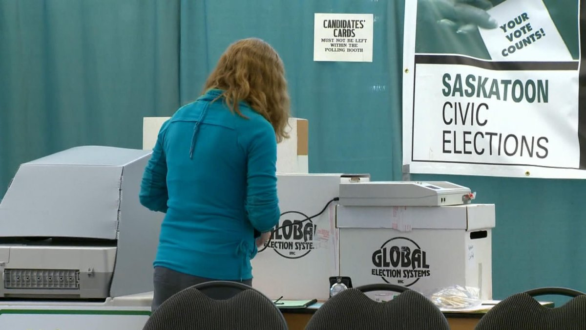 There are three options to vote in the Saskatoon municipal election: by mail, at an advance poll or on election day.