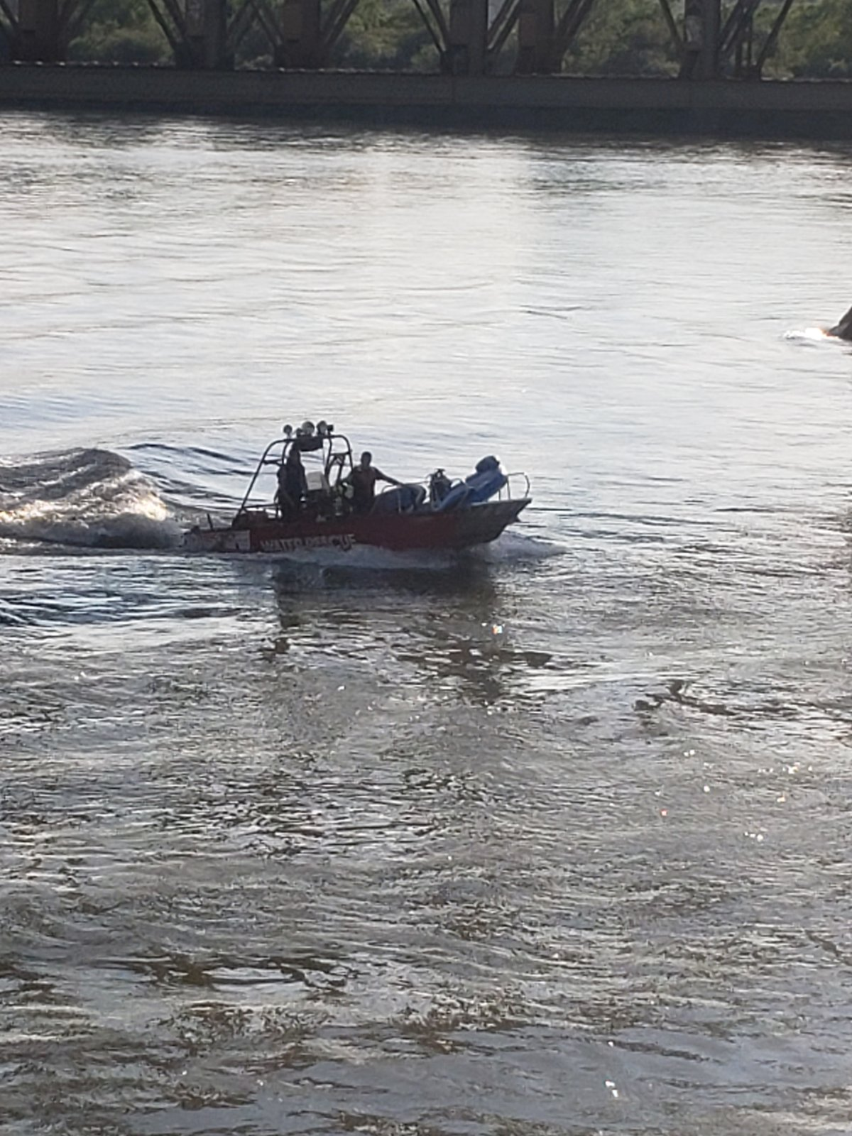 The Saskatoon Fire Department said in rescued five people from the fast flowing South Saskatchewan River in two separate water rescues.
