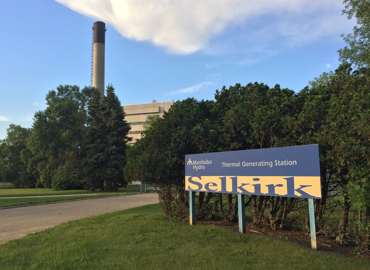 The Selkirk Generating Station.