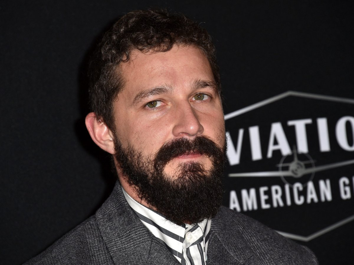 Shia LaBeouf attends the 23rd annual Hollywood Film Awards at the Beverly Hilton Hotel on Nov. 3, 2019 in Beverly Hills, Calif.