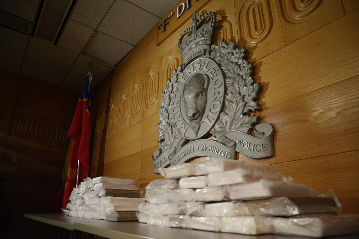 About 50 kg of cocaine were seized by Craik RCMP during a traffic stop near Davidson, Sask. on July 3.
