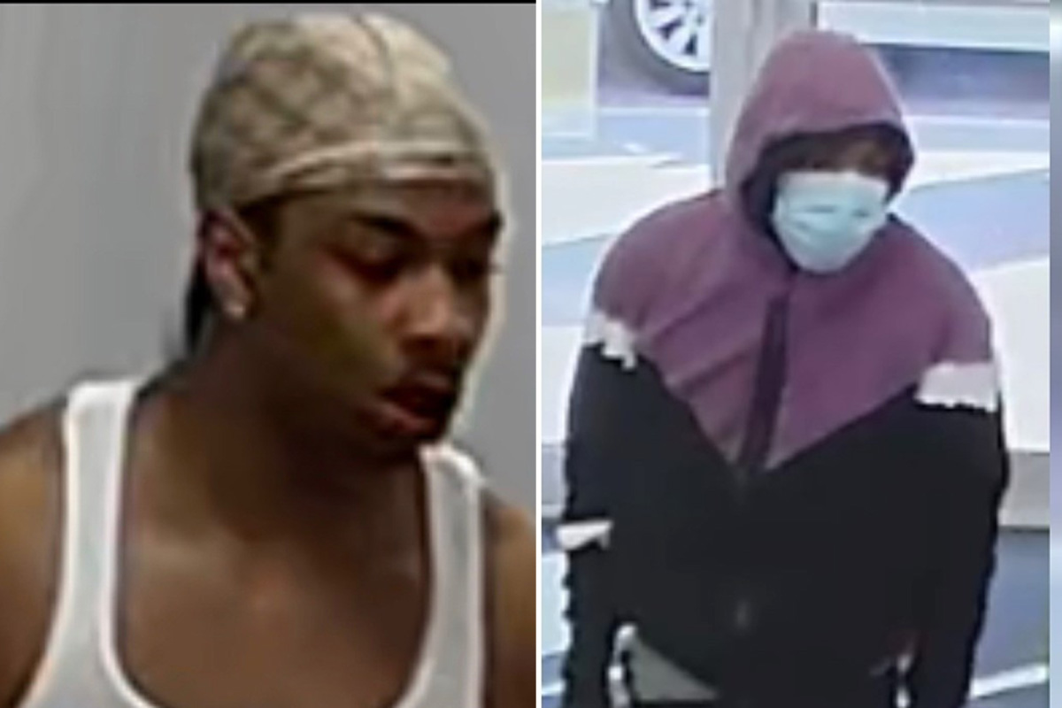Peel Regional Police are still looking for the two men in these photos.