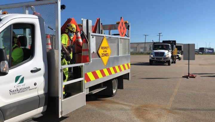When the novel coronavirus pandemic hit, the City of Saskatoon says it revised its 2020 road construction plan to place safety at the forefront.