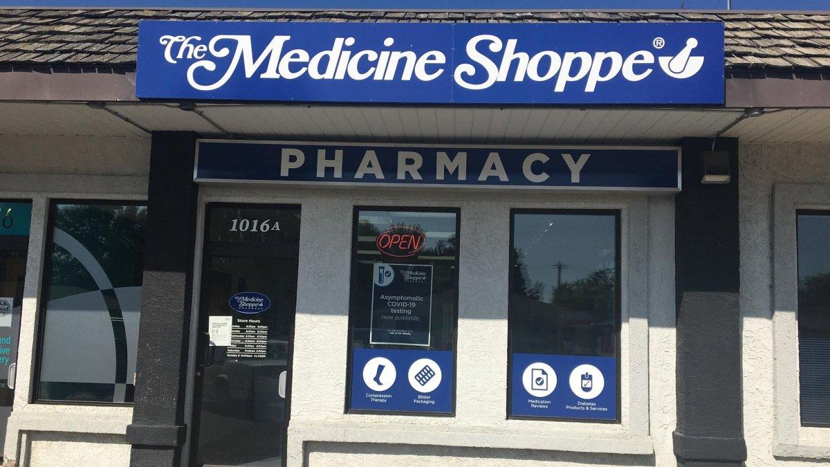 A Medicine Shoppe Pharmacy in Lethbridge is providing asymptomatic COVID-19 testing.