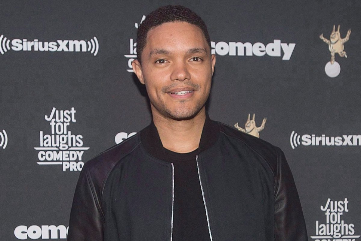 'The Daily Show' host Trevor Noah poses in 2017.