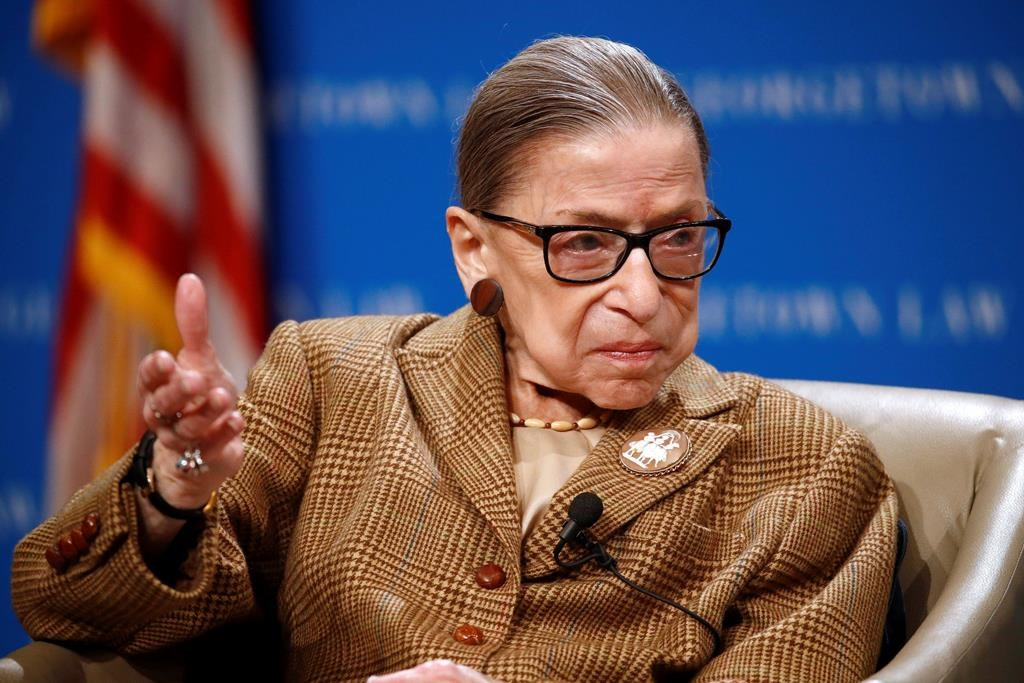 U.S. Supreme Court Justice Ruth Bader Ginsburg dies at 87