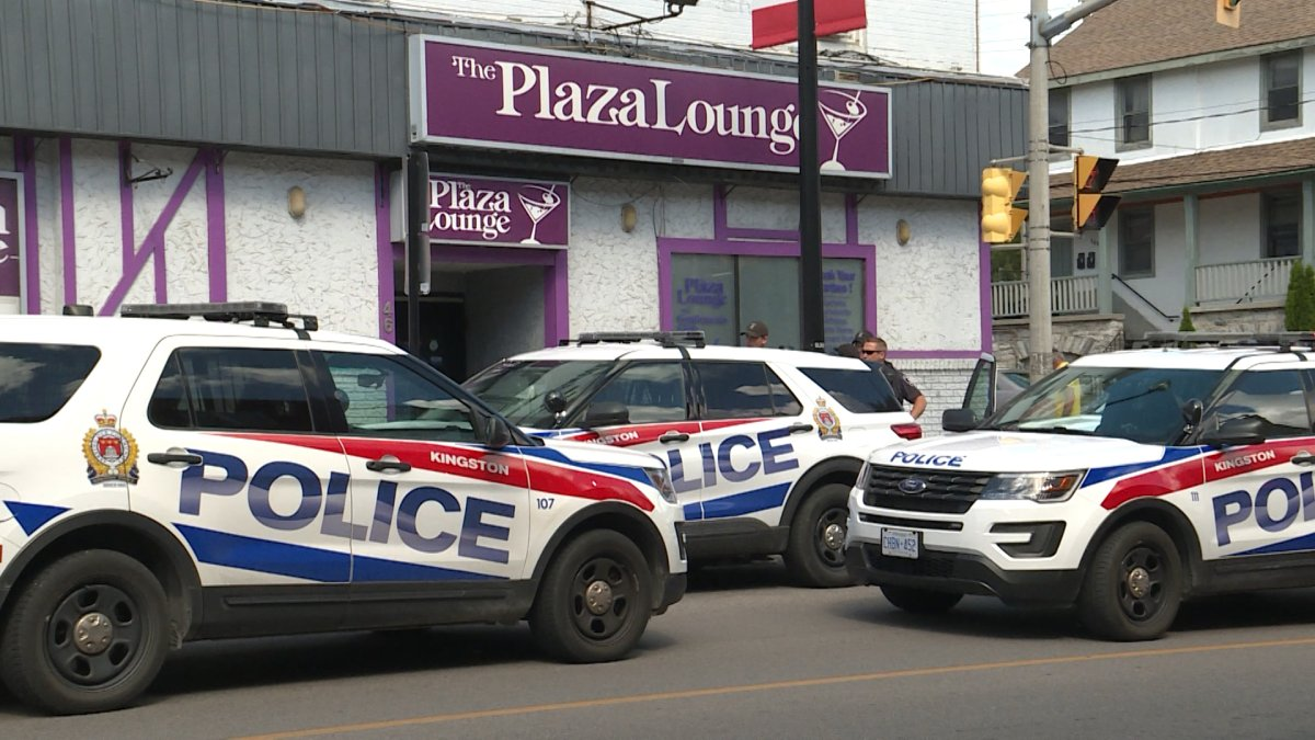 Kingston police were called to the Plaza Hotel just before 11 a.m. on Wednesday. Police say a 35 year-old man has been charged with one count of assault with a weapon.