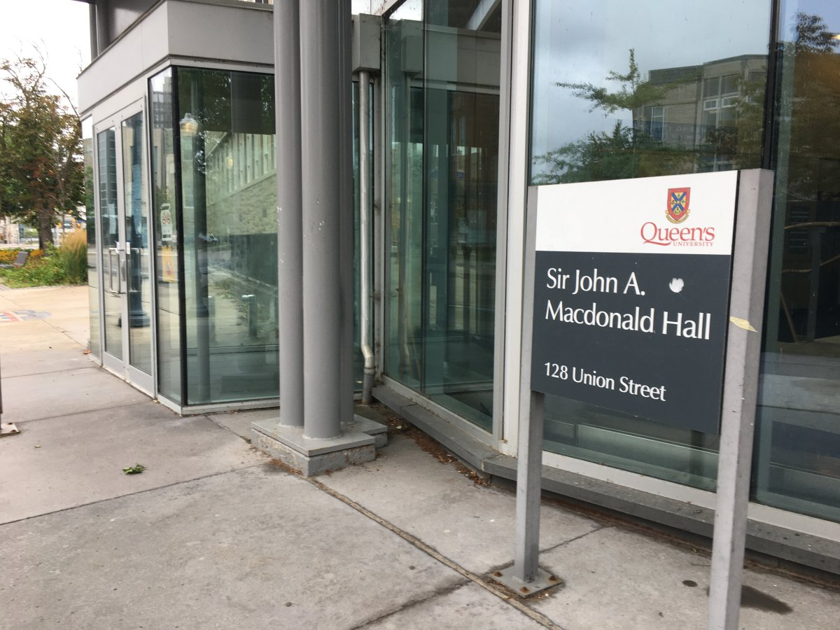 Queen's University has gathered an advisory committee to consider the renaming of the Faculty of Law building, Sir John A. Macdonald Hall.