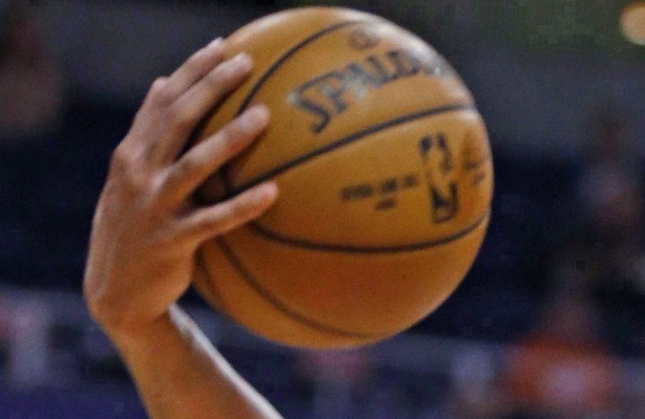 A file photo of a basketball.