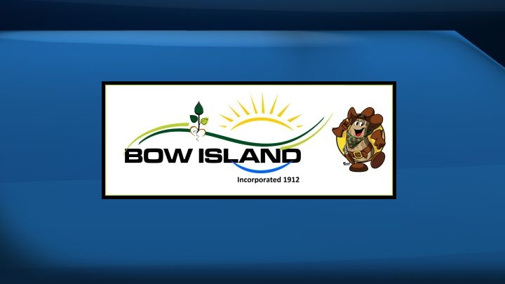 The logo for the Town of Bow Island is shown.
