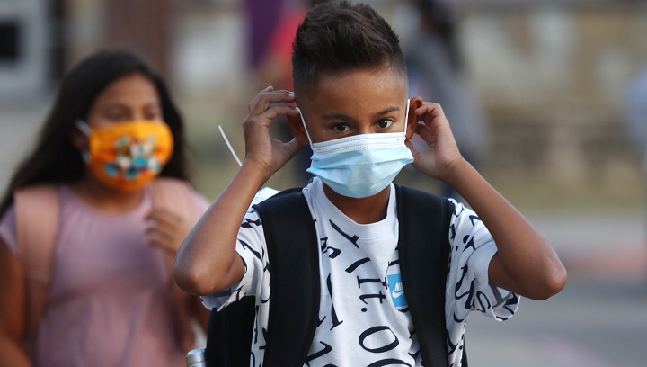 Some Saskatchewan school divisions are encouraging students and staff to wear masks when returning to school in the fall.