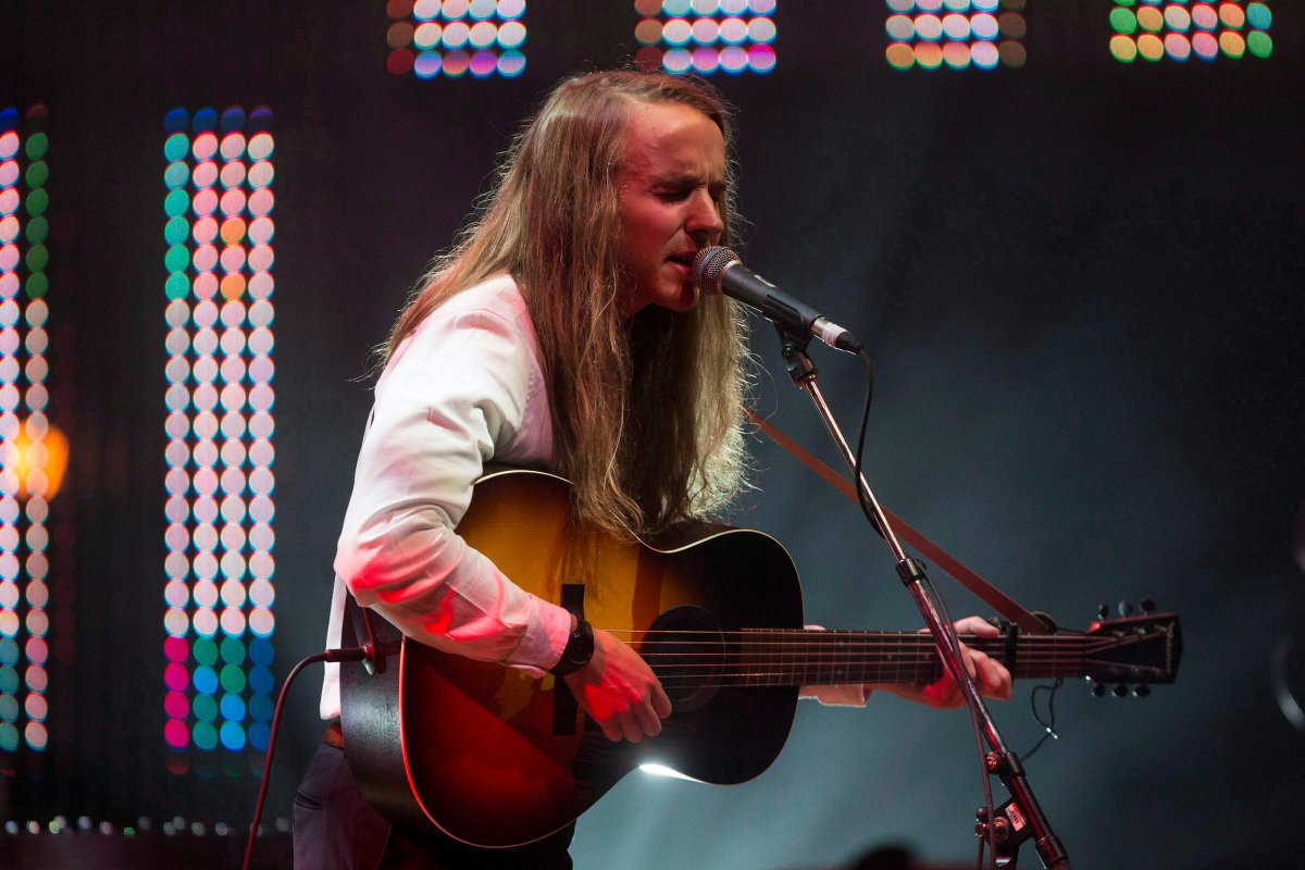 Andy Shauf performs at the 2016 Polaris Music Prize in Toronto on Sept. 19, 2016.