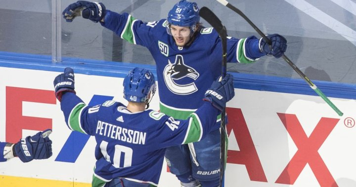 Canucks knock defending champion Blues out of NHL playoffs with 6-2 win