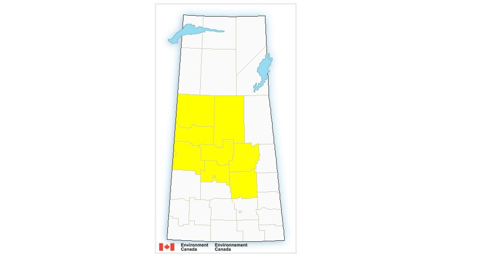 Environment Canada has issued a tornado watch for parts of northern Saskatchewan while severe thunderstorm watches have been issued throughout the province.