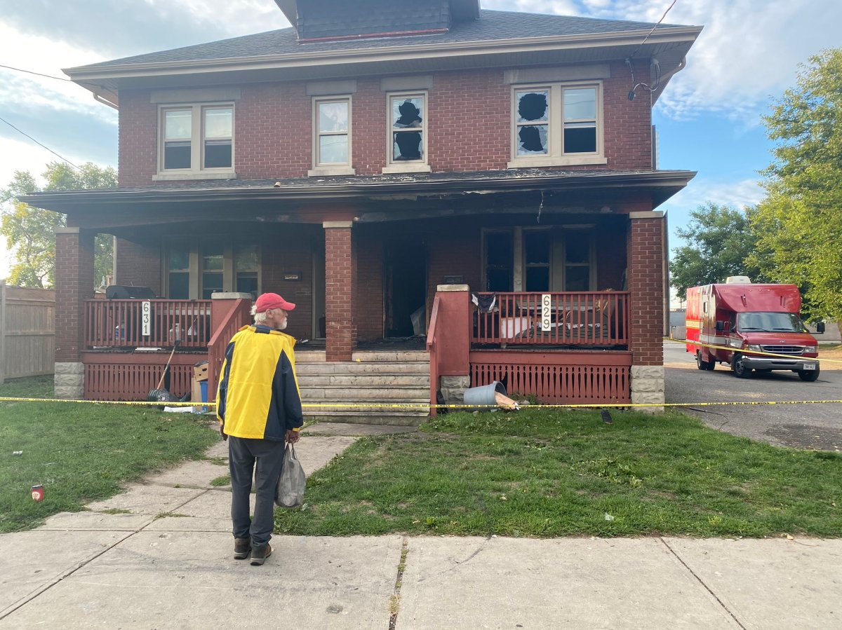 At around 3:40 a.m., emergency crews responded to a fire at 629 King Street, located just east of Adelaide Street North..