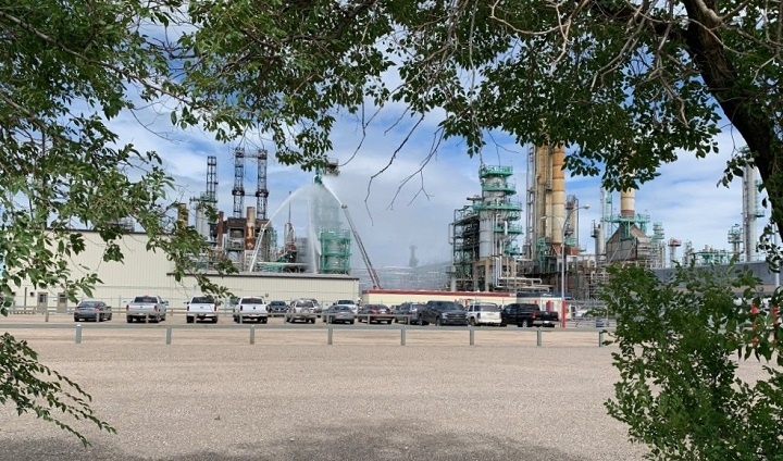 A fire at Regina's Co-op Refinery Complex on Monday afternoon was contained and extinguished quickly, according to the CRC.