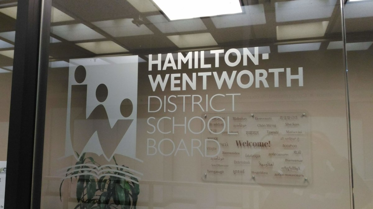 Hamilton's public school board is reporting its first case of COVID-19, also marking the first positive case reported in the Hamilton school system.