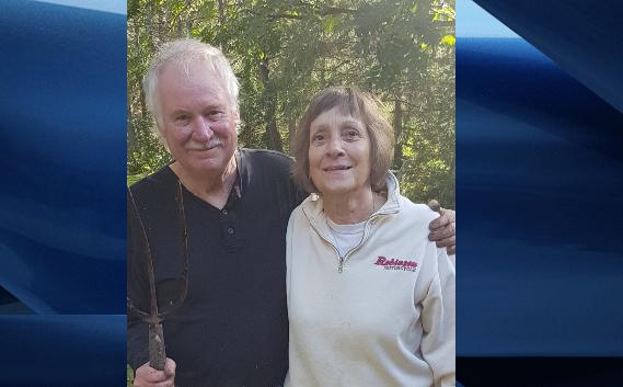 John Thomas, 71, and Patricia Thomas, 68, of Blenheim, Ont.