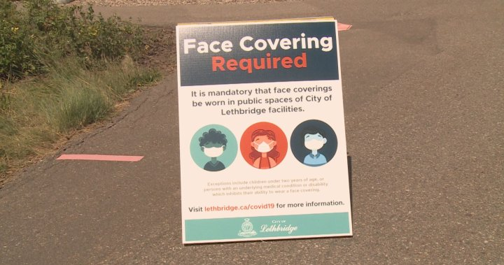 Coronavirus: City of Lethbridge requires face coverings in over a dozen city-owned facilities starting Friday