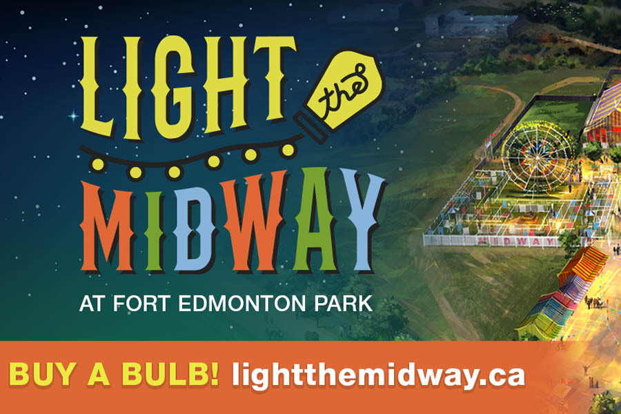 Global Edmonton and 630 CHED support: Light the Midway - image