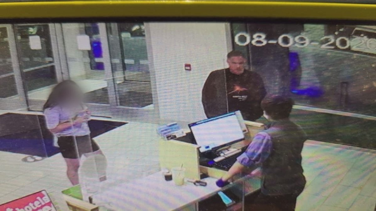 Kelowna RCMP still wish to speak to the unidentified man spotted on surveillance footage with the missing teen, who has since been found safe.