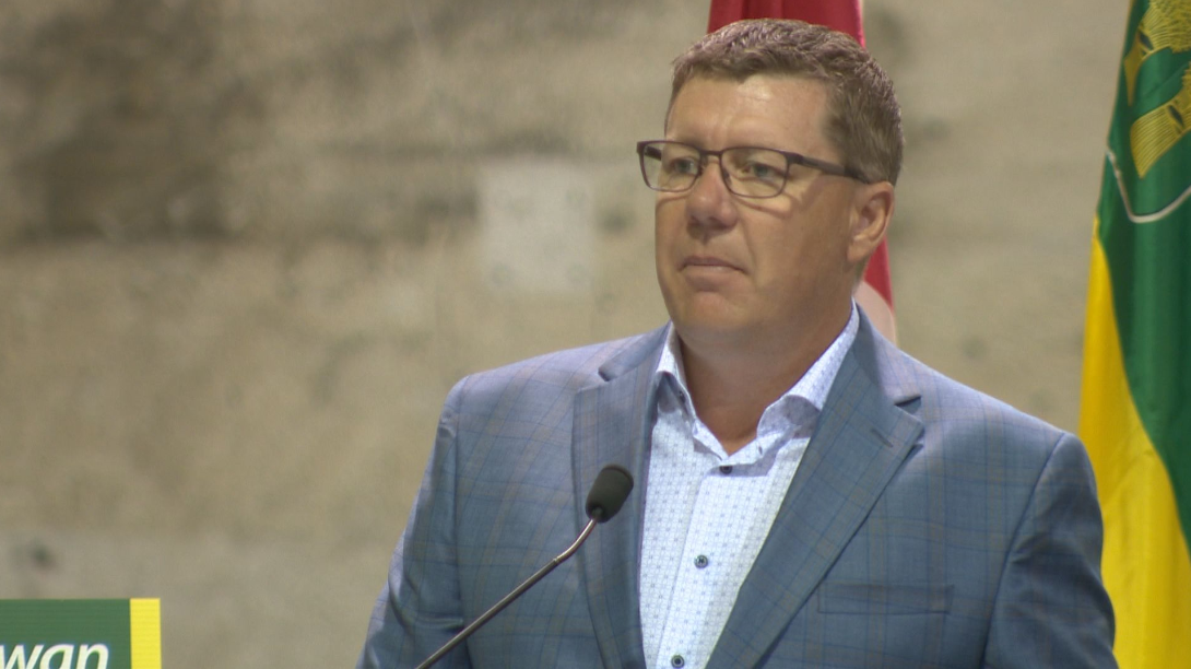 In a letter to Justin Trudeau, Scott Moe said he would like to see the federal government support the oil and gas sector in the upcoming throne speech.