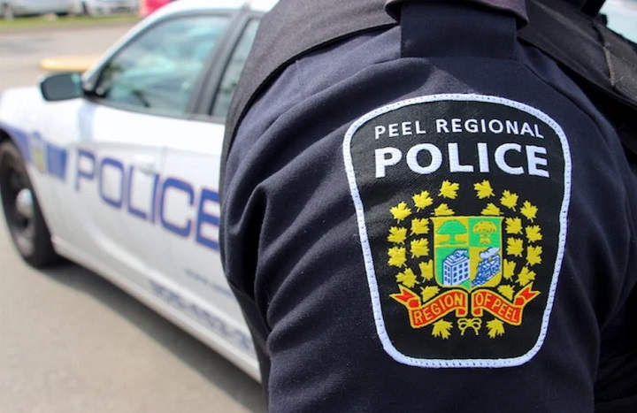 Police were called to the area of Dixie Road and Dundas Street at 1:26 p.m. Saturday.
