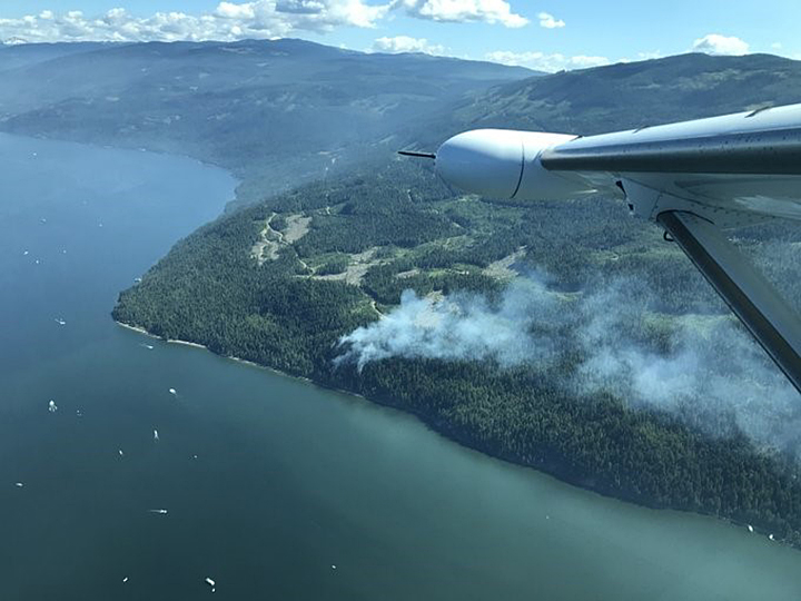 Stay away from fire zones, pleads BC Wildfire.