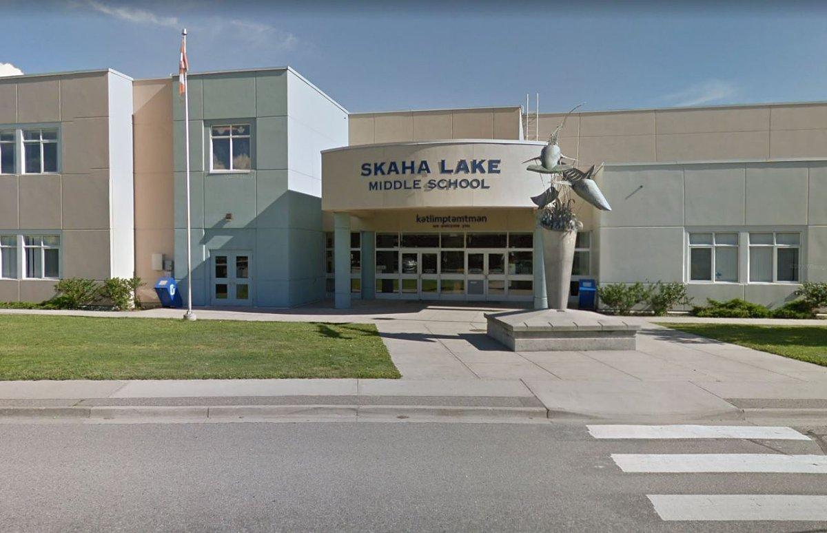 Skaha Lake Middle School in Penticton, B.C.