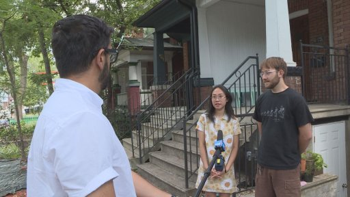 MaryAnn Icaro and Christopher Loose are facing eviction for the second time since the COVID-19 pandemic began.