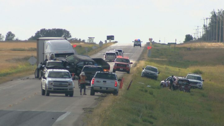 Driver charged in fatal construction zone crash near Wakaw, Sask.